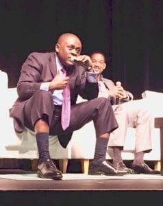 Will Smith and Dr. Bennet Omalu