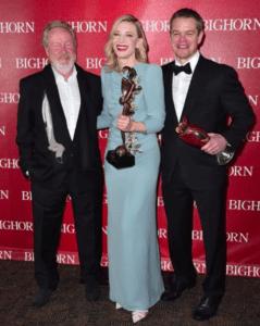 Ridley Scott, Cate Blanchett, and Matt Damon