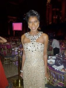 Natalie at the 2011 Angel Ball