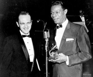 Bob Newhart and Nat King Cole