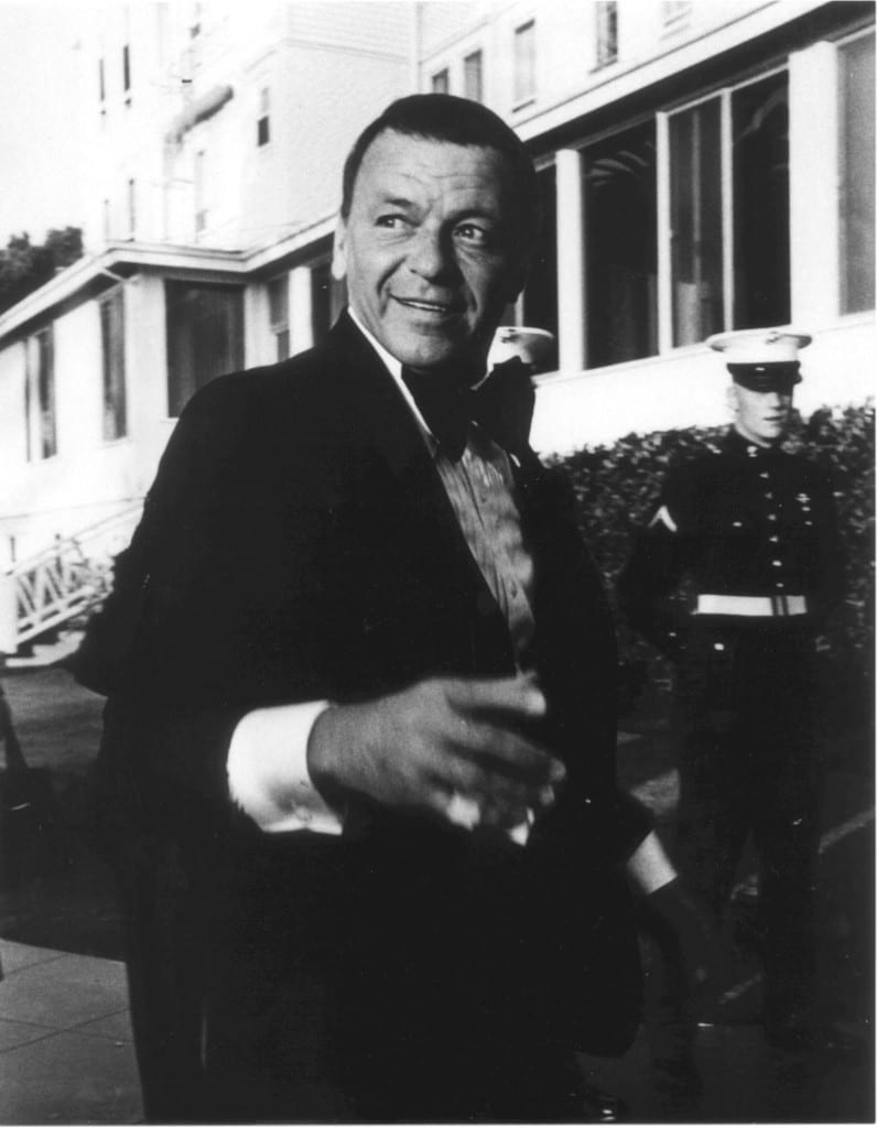Sinatra made an appearance at The Del in 1970 to attend President Nixon's state dinner, held in our historic Crown Room. Sinatra is among a long guest list of Hollywood celebrities who have frequented The Del over the years, beginning in the early 1900s with silent movie stars and continuing to today.