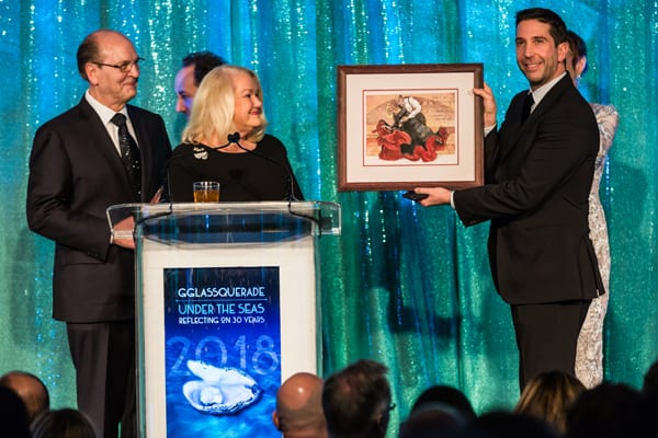 Lookingglass Glassquerade Gala with host David Schwimmer