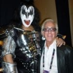 Gene Simmons and Arny Granat
