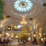 Lobby of Hotel de Paris