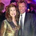 Sharyn Weintraub and Jon Bon Jovi