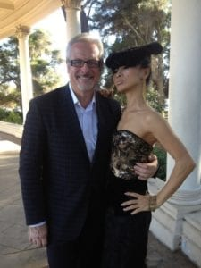 Mark Roscoe, Bai Ling in Mark Roscoe Design