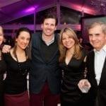 Paula Fasseas, Sophia Kamberos, Cory Spence, Alexis Fasseas & Peter Fasseas I Photo by Sparenga Photography