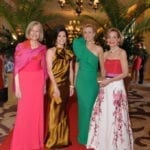Janis W. Notz (Pres. Woman's Board), Lisa Bailey (co-chair), Veronique Bushala (co-chair), Betsey N. Pinkert (Hon.Co-chair)