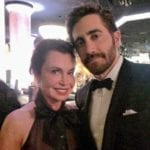 Irene and Jake Gyllenhaal