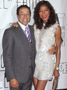 Natalie and Smokey Robinson