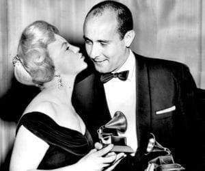 Peggy Lee and Henry Mancini