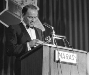 Sinatra at the Grammys