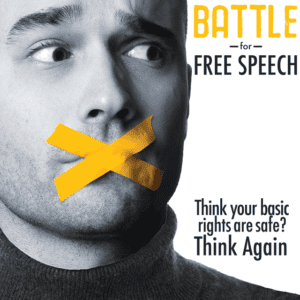 A Battle for Free Speech
