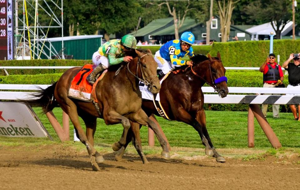 American Pharaoh and Keen Ice - Saratoga Springs