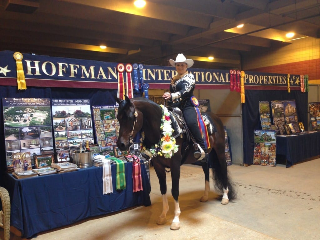 Exhibit at the Mayfest Arabian Show and National Champion Sylvia Beahr
