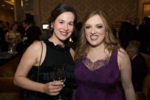 Amanda Salchow and Rachel Barton Pine | Photo by Elliot Mandel