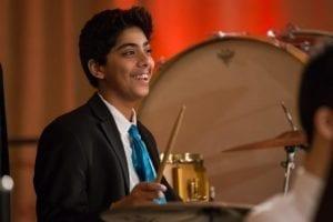 CYSO Symphony Orchestra percussionist Meher Sethi _ Photo by Elliot Mandel