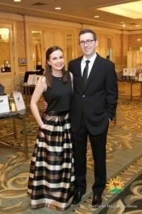 Elizabeth Abello and Ryan Morgan