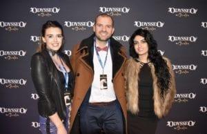 Liza Woolston, Paul Bentkowski and Shaina Napoleon with Prestige Suites