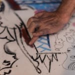 Artist David Lee Csicsko recreates the whimsy of the Belle Epoque on paper.