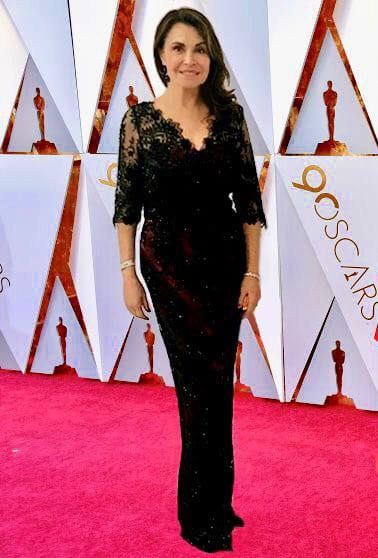 Irene Michaels on the Red Carpet Oscars 2018