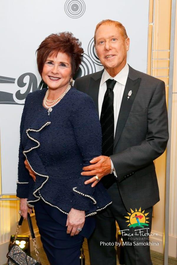 Vicki and Louis Fine.