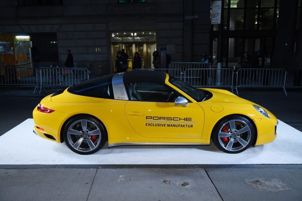 Porsche 911 Speedster at the 2018 Angel Ball hosted by Gabrielle's Angel Foundation at Cipriani Wall Street on October 22, 2018 in New York City. (Photo by Dimitrios Kambouris/Getty Images for Gabrielle's Angel Foundation)