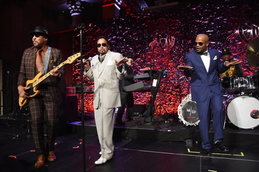 Morris Day & The Time perform on stage at the 2018 Angel Ball hosted by Gabrielle's Angel Foundation at Cipriani Wall Street on October 22, 2018 in New York City. (Photo by Cindy Ord/Getty Images for Gabrielle's Angel Foundation)