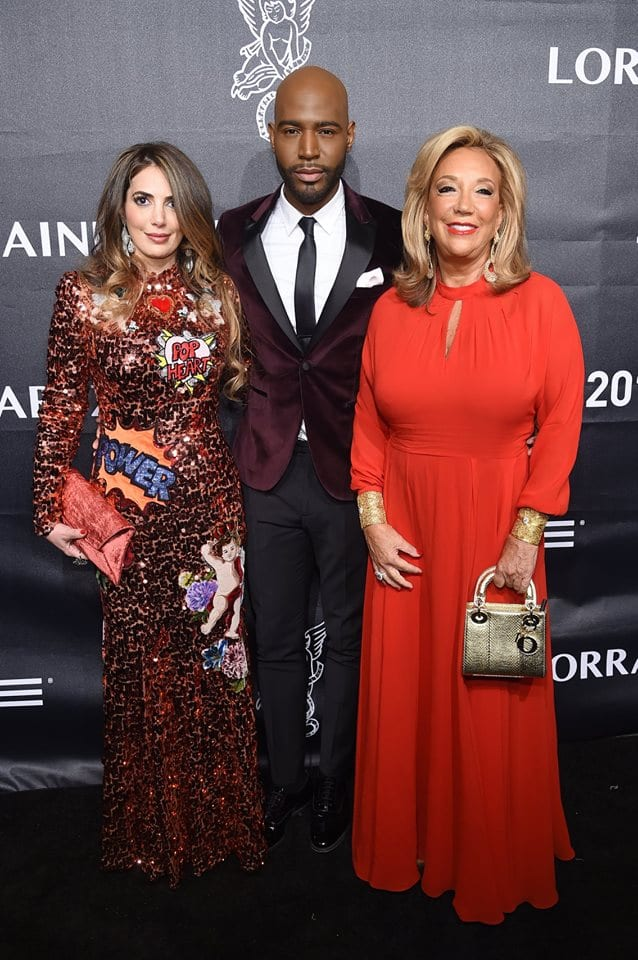 Daniella Rich Kilstock, Karamo Brown and Denise Rich attend the 2018 Angel Ball hosted by Gabrielle's Angel Foundation at Cipriani Wall Street on October 22, 2018 in New York City. (Photo by Jamie McCarthy/Getty Images for Gabrielle's Angel Foundation)