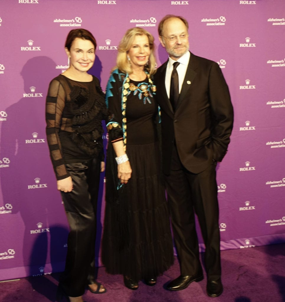 With Princess Yasmin Aga Khan & David Hyde Pierce