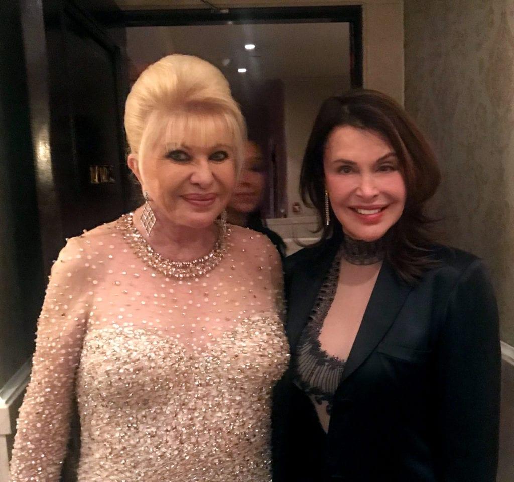 Irene Michaels ans Ivana Trump
