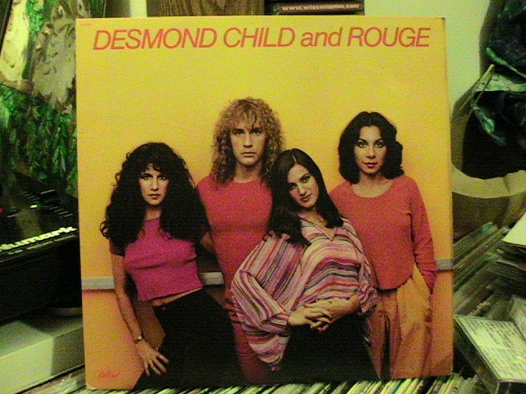 DESMOND CHILD AND ROUGE - st LP 78 w Runners In The Night LP 79