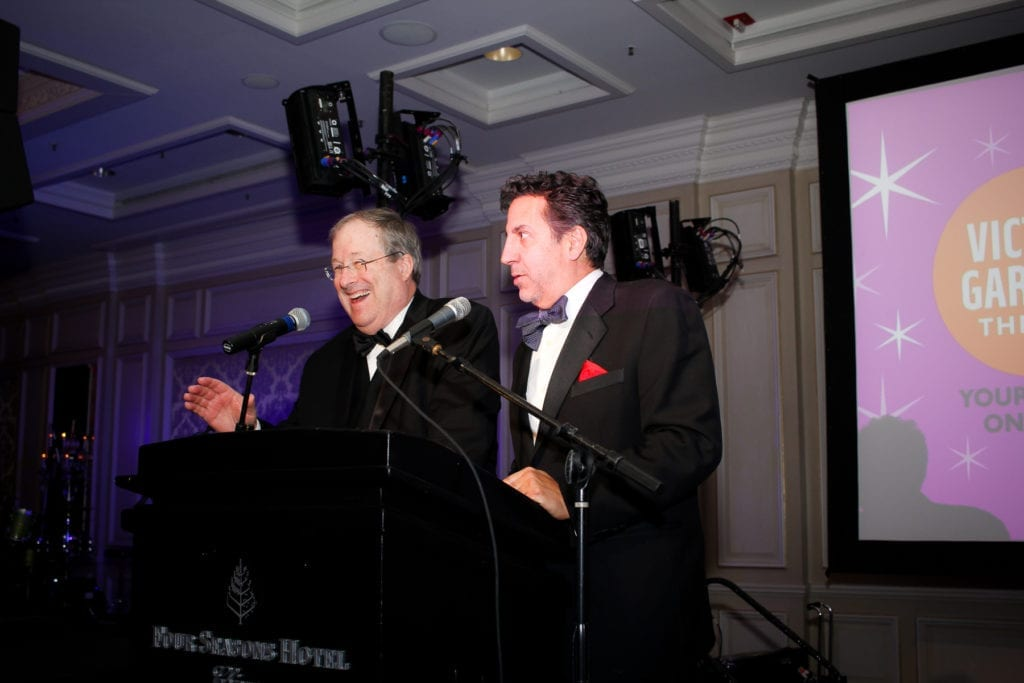 Co-hosts Lin Brehmer and Marc Grapey