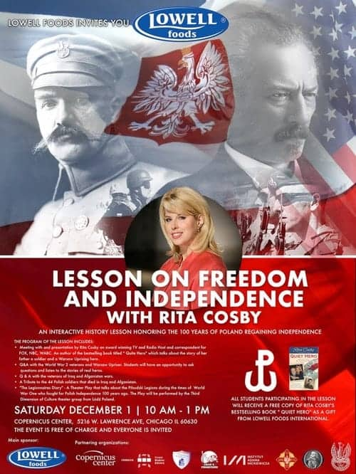 The Lesson on Freedom and Independence with Rita Cosby