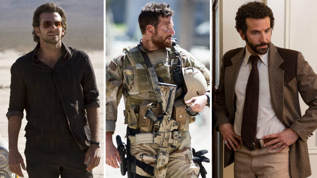 Bradley Cooper: 'The Hangover,' 'American Sniper,' 'American Hustle'