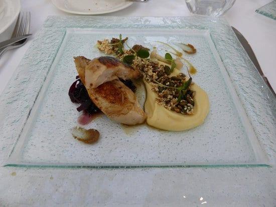 Forelles: Partridge main course