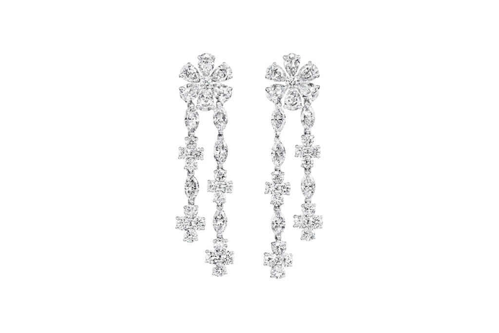 Forget-Me-Not by Harry Winston, Diamond Drop Earrings