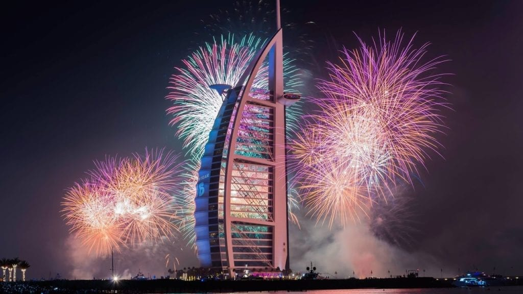 Dubai New Year's Eve 2019
