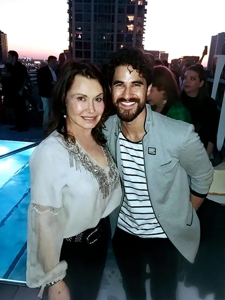 Irene Michaels and Darren Criss Nominee for Best Performance by an Actor in a Limited Series or Motion Picture Made for Television
