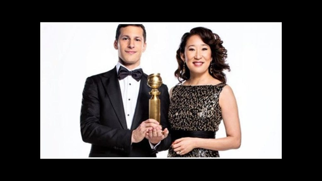 Fans of Andy Samberg and Sandra Oh will be pleased to know that both performers will be hosting the 76th Annual Golden Globes on January 6, 2019.