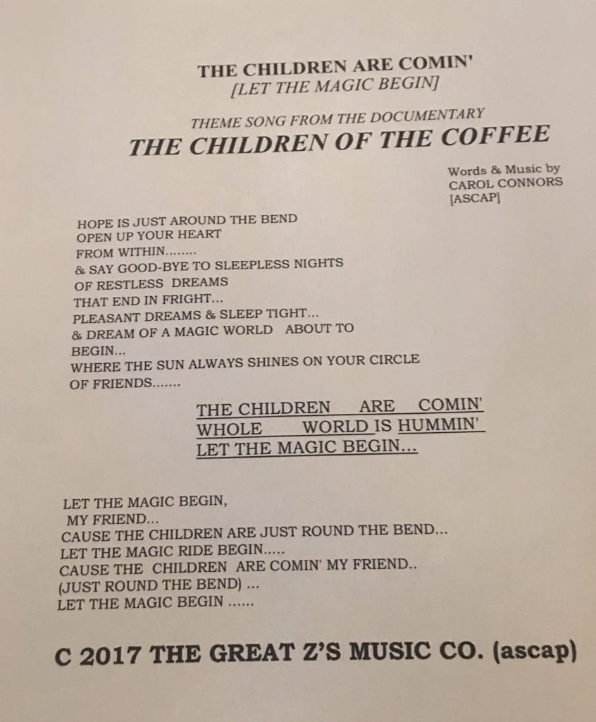 Children of the Coffee