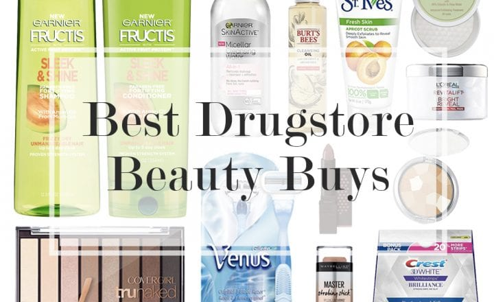 Best Drugstore Beauty Products