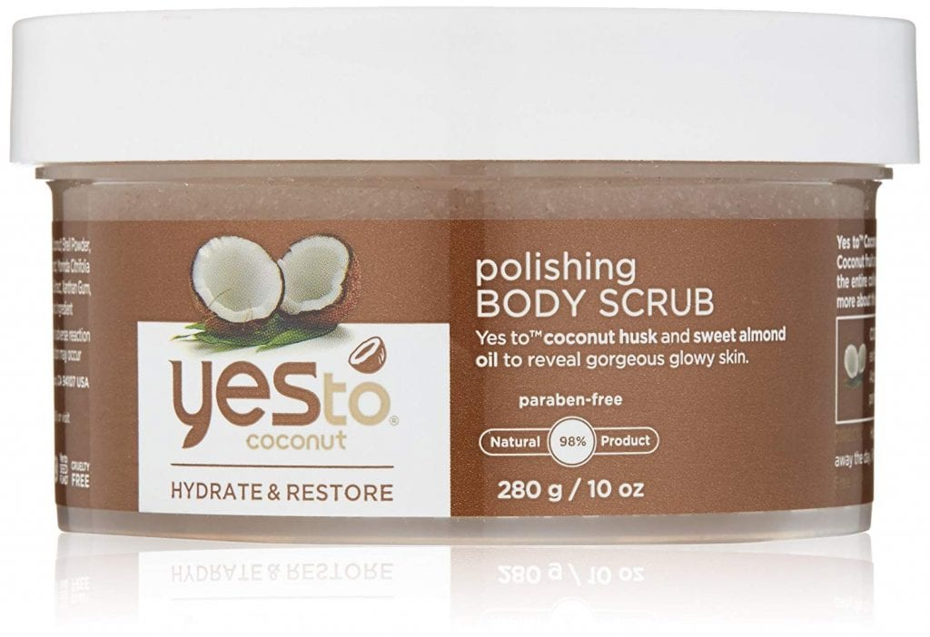 Yes to Coconut Polishing Body Scrub, Summer Skincare Essentials