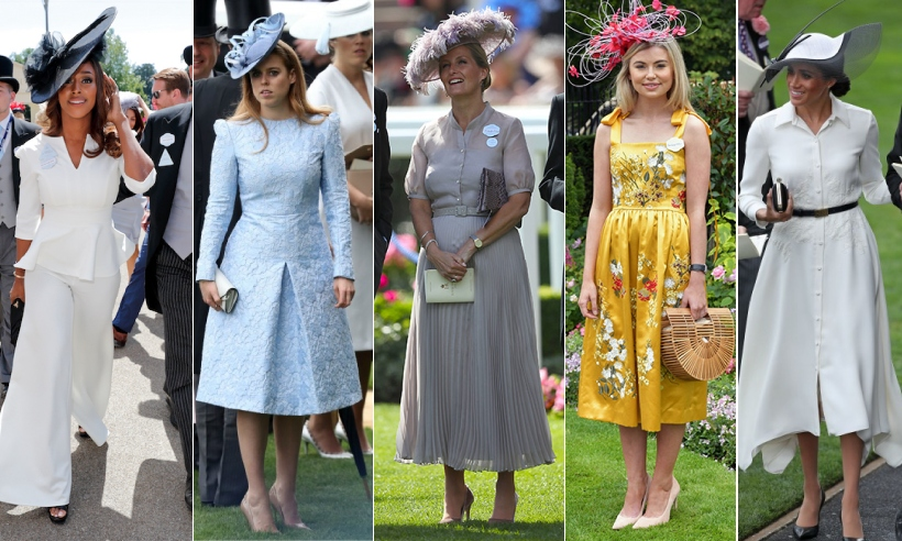 Royal Ascot Fashion 2018: Best outfits from the races including Princess Beatrice, The Queen and Kate Garraway | HELLO!