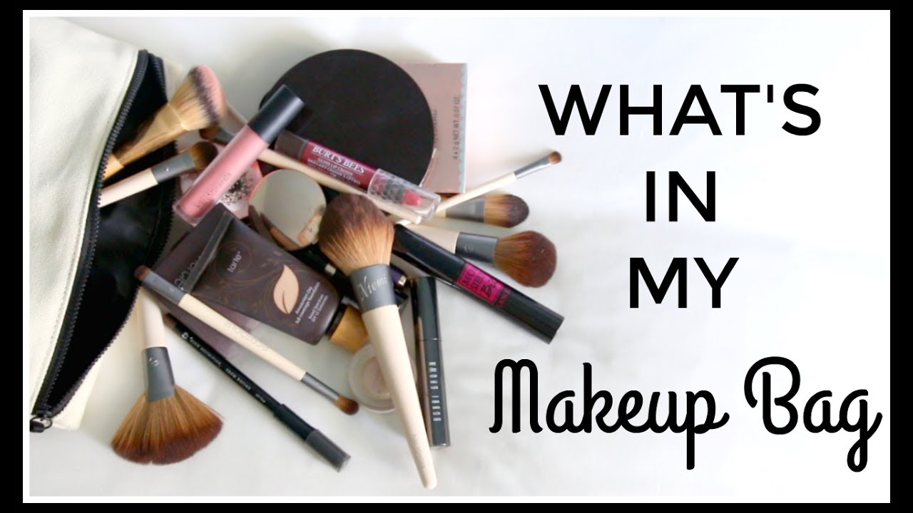 Beauty Products Always in My Makeup Bag