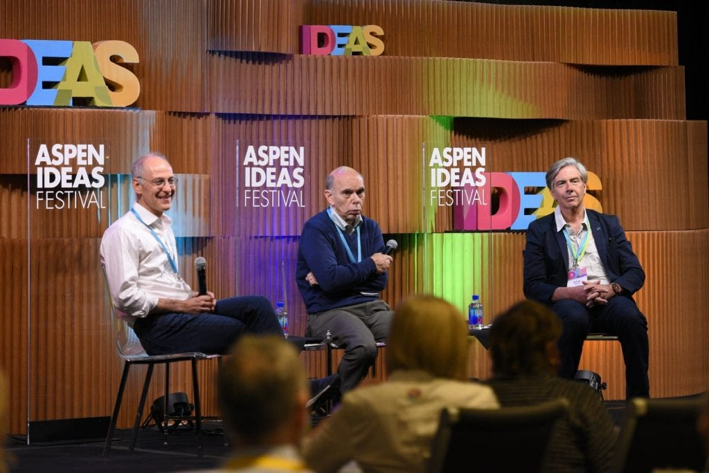 Panel on Aspen Ideas Festival