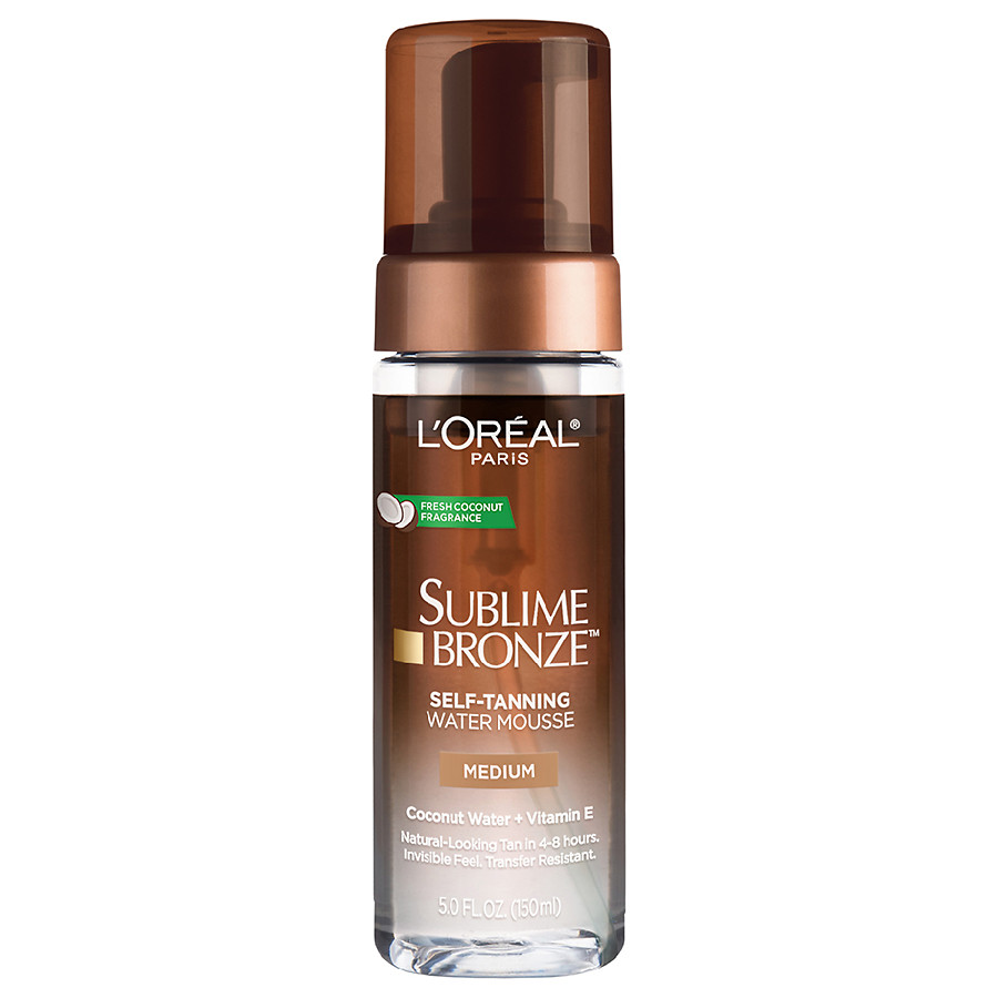 L'OREAL Self-Tanning Water Mousse