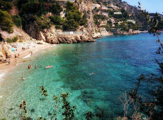Cap d'Ail La Mala beach