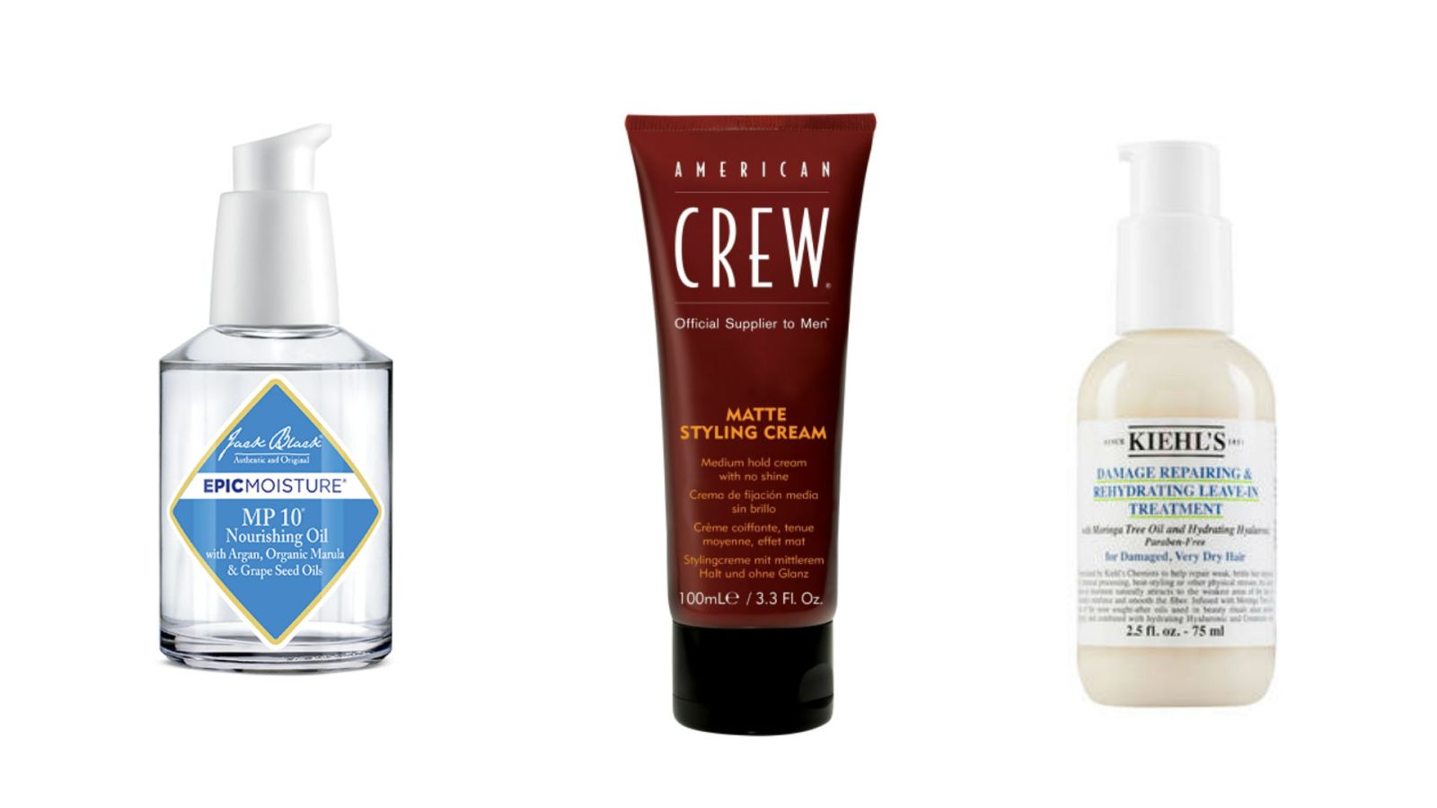 Top 5 Men's Hair Products