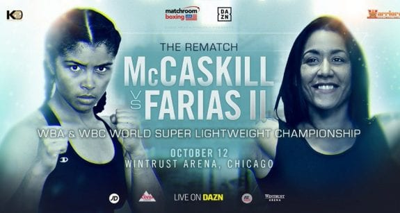 McCaskill vs Farias Rematch